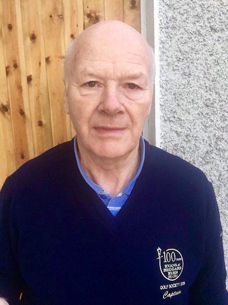 Michael O'Reilly - Captain Beggars Bush Golf Society